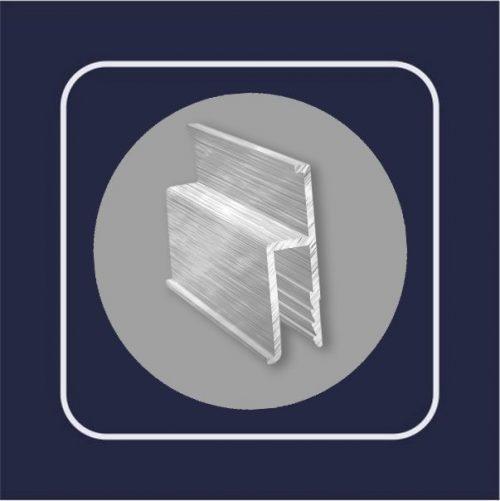 Профиль алюминиевый стандарт