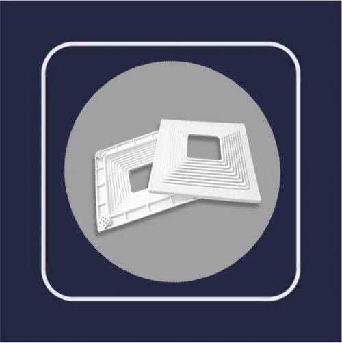 Платформа универсальная для квадратных встроенных светильников