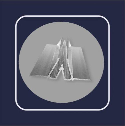 Профиль алюминиевый W