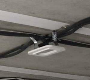 Закрепление платформы для светильника